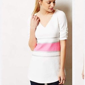 Anthropologie Wide Striped Top